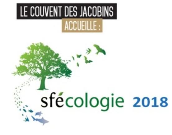 Sfécologie 2018 Rennes Congrès